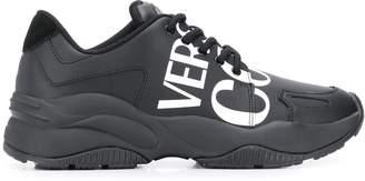 Versace logo print chunky-sole sneakers