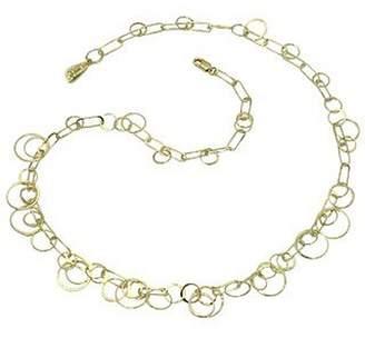 Orlando Orlandini Star - 18K Yellow Gold Circles Necklace