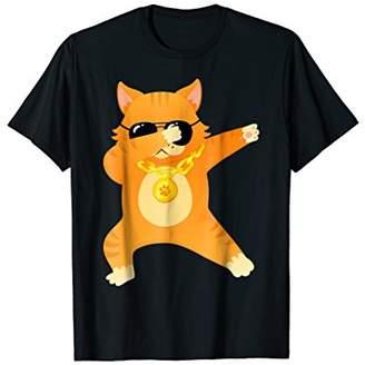 Funny Dabbing Dancing Cool Cat Shirt