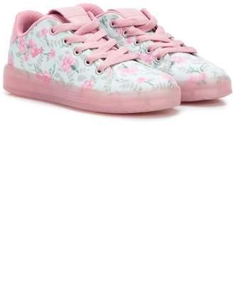 Geox floral print sneakers