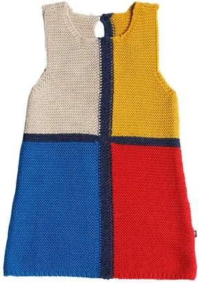 Oeuf Mondrian Baby Alpaca Knit Dress