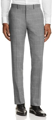 Theory Marlo Bold Grid Slim Fit Trousers - 100% Exclusive $265 thestylecure.com