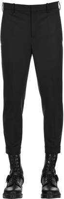 Neil Barrett 17cm Stretch Extra Fine Gabardine Pants