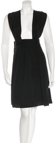 Marc JacobsMarc Jacobs Pleated Cutout Dress