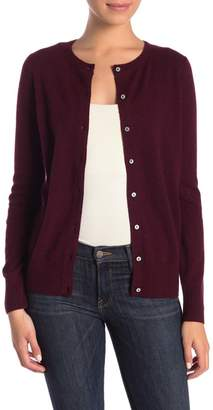 Magaschoni M BY Cashmere Button Front Cardigan (Petite)