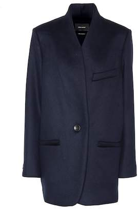 Isabel Marant Felis wool and cashmere coat