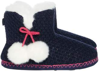 totes Sparkle knit boot