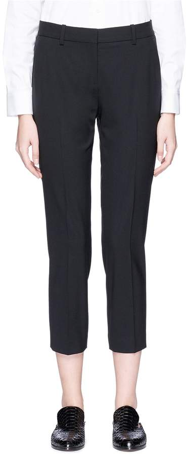 'Treeca 2' wool cropped suiting pants