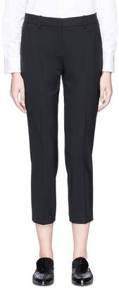 Theory 'Treeca 2' wool cropped suiting pants