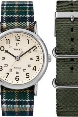 Timex Mens Weekender Box Set Watch TWG015300