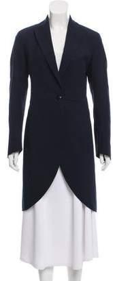Akris Notch-Lapel Single-Button Coat