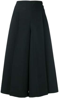 Issey Miyake cropped wide-leg trousers
