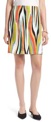Halogen Stripe Skirt