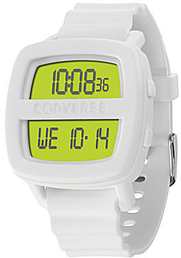 Converse Re-Mix White Silicone Watch