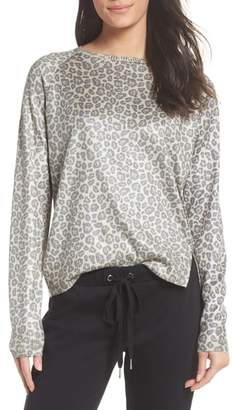 Rag Doll RAGDOLL Leopard Print Sweatshirt