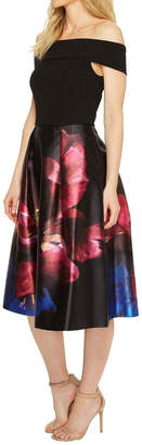 Ted Baker Impressionist Bardot Dress