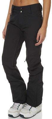 Dakine New Women's Westside Snow Pant Lace Mesh Elastane Black
