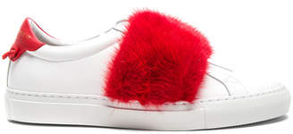 Givenchy Urban Street Elastic Strap Mink Low Sneaker