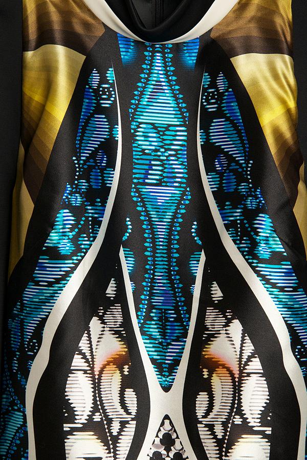 Peter Pilotto Amra T-print Long Sleeve Top