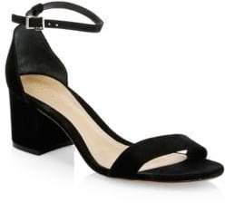 Schutz Chimes Suede Ankle-Strap Sandals