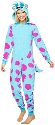 Disney Union Suits Sulley Long Sleeve One Piece Pajama