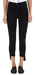 Rag & Bone Women's 10 Inch Capri Skinny Jeans - Black