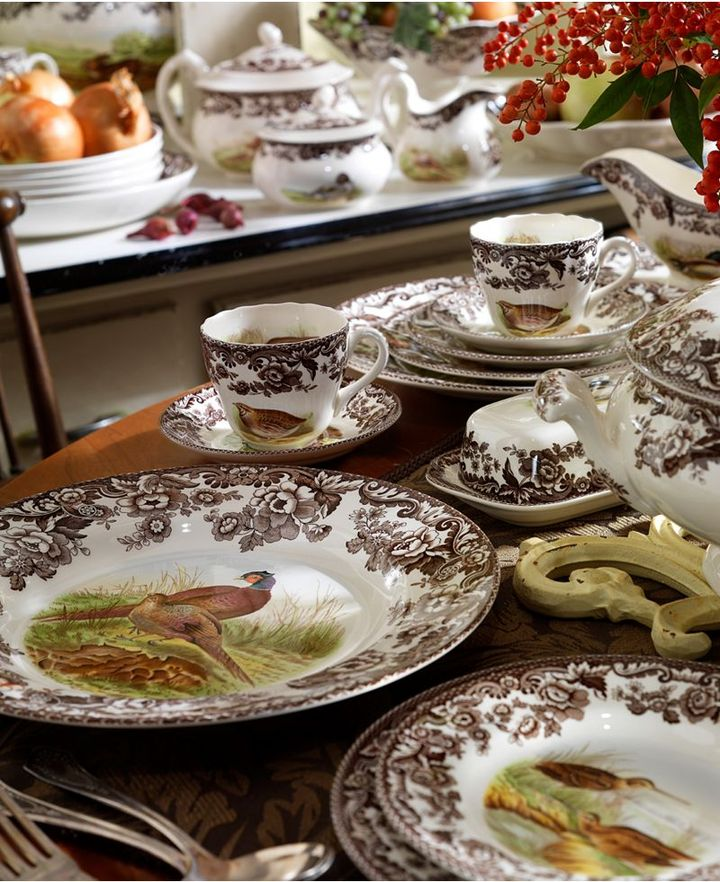 Woodland by Spode Dinnerware Collection