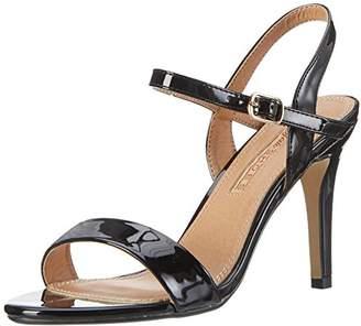 Buffalo David Bitton Shoes 314258 PATENT PU GM S111 1, Women's Ankle Strap Sandals,(40 EU)