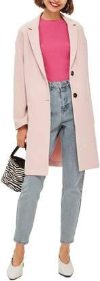 Topshop Crepe Coat