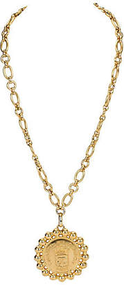 One Kings Lane Vintage 1970s Chanel Oversize Cambon Necklace - Vintage Lux