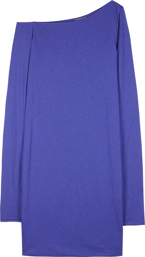 Halston Cotton Mini Dress