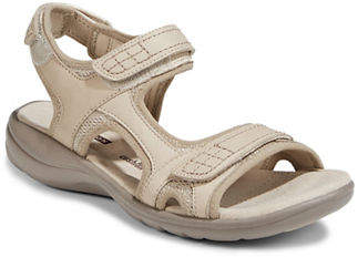 Clarks Saylie Jade Leather Open Toe Sandals