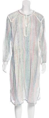 Antik Batik Midi Knit Dress w/ Tags