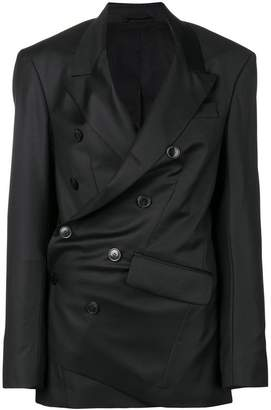 A.F.Vandevorst asymmetric tailored blazer