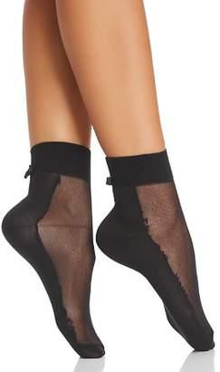 Kate Spade Sheer Top Ankle Socks