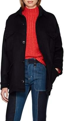 Katharine Hamnett Women's Kate Wool-Blend Melton Oversized Jacket