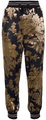 Twin-Set floral embellished jogging trousers