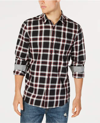 American Rag Men Charlie Plaid Twill Shirt
