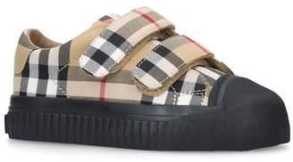 Burberry Belside Vintage Check Sneakers