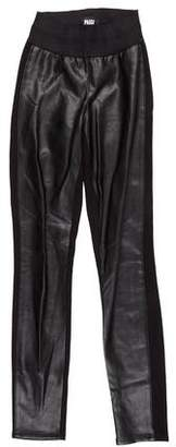 Paige Faux Leather Skinny Pants