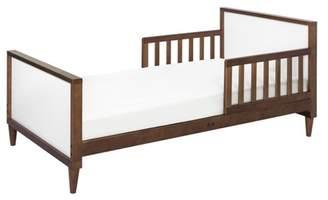 Babyletto Ziggy Toddler Bed - Walnut/White