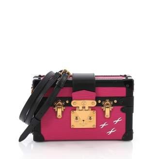 Louis Vuitton Petit Malle Pink Leather Handbag