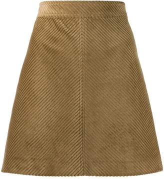 Vanessa Bruno ribbed high-waisted skirt