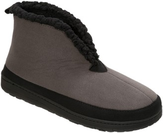 Dearfoams Microsuede Boots with Mudguard