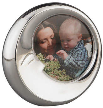 Nambe Sleep Moon Stainless Steel Picture Picture Frame