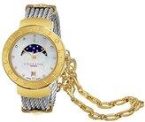 Charriol WomensレディースSt Tropez 34 mm MOP DialステンレススチールDate Swiss Quartz Watch st35cy。560.009