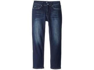 7 For All Mankind Kids Slimmy Jeans in Los Angeles Dark (Little Kids/Big Kids)