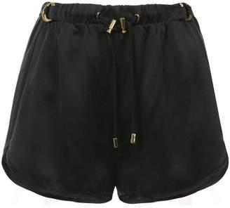 Balmain silk shorts
