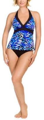 Miraclesuit Kirkland SignatureTM by Ladies' Tankini Top-Fierce Animal Print