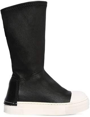 Araia Kids Neoprene & Leather Boots